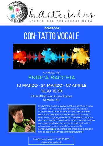 CON-TATTO VOCALE - Bacchia